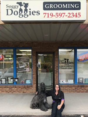 cari-300x400Cari Goslyn Owner and Pet Stylist Soggy Doggies Grooming Colorado Springs
