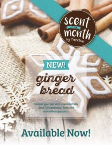 Gingerbread Scent of the Month in our Spa Package